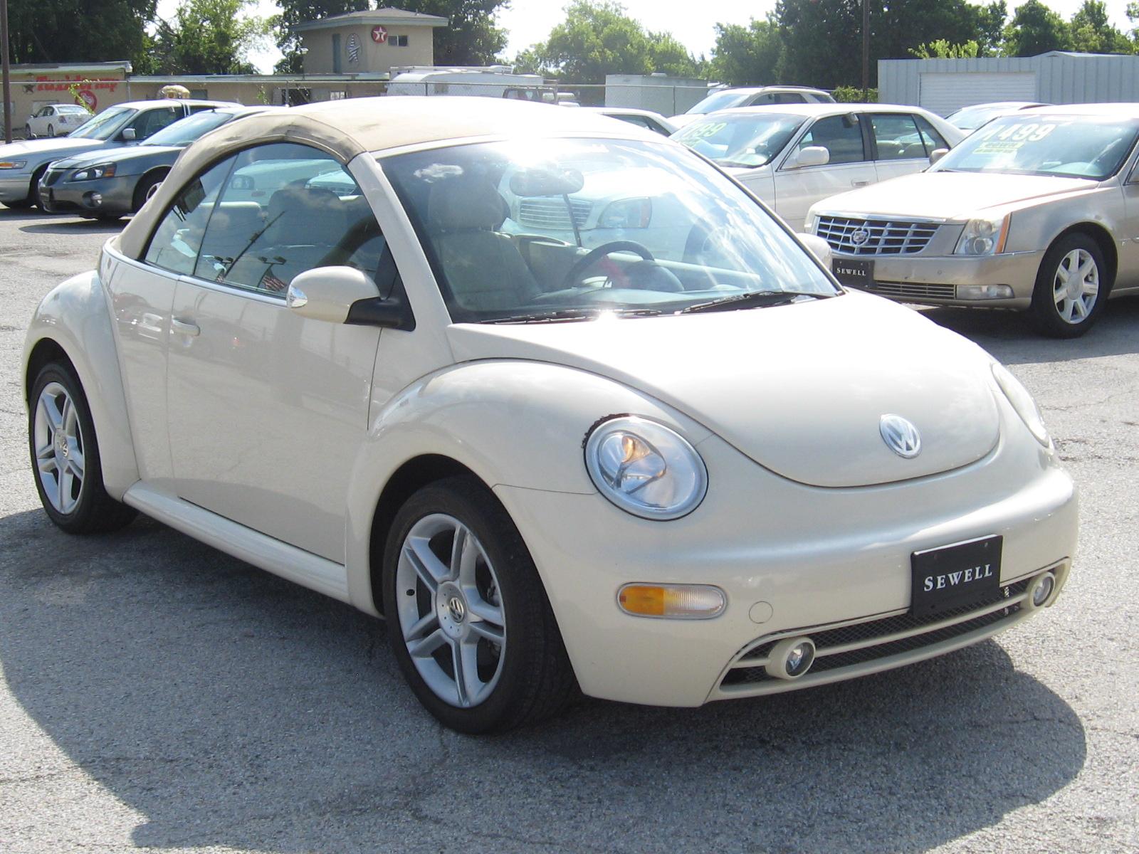 volkswagen  beetle convertible  gls turbo   autoworldtx